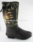 Camo men's work boots