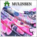 Mulinsen têxtil de confecção de malhas ring spun viscose/spandex tecido estampado