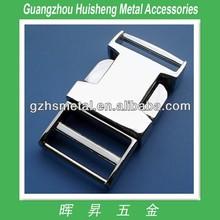 High Quality Fashion Style Metal Side Release Buckles Metal Belt Buckle Nickle Color Belt Buckle