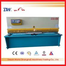 QC12-16x6000 , metal sheet shearer ,shanghai industry shearing machine , hydraulic plate shear