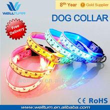 beautiful blue color correa perros heavy dog weight large size collar pitbul