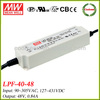 Meanwell LPF-40-48 40w led driver 48v 0.84a