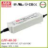 Meanwell LPF-40-30 40w led driver 30v 1.34a