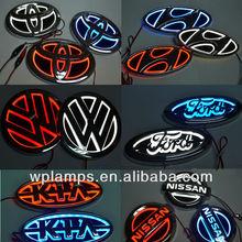 3D Car Logo Light with LED for many cars