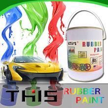 Peelable Rubber Paint Spray for wheel hub