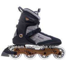 PVC wheels roller skates,adjustable roller inline skate colorful,4 wheels inline skate with CE approved