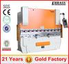 100T/2000 metal plate press brake , aluminum sheet bending machine , used aluminum brakes sale