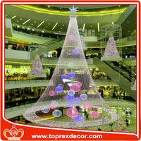 Novel Christmas led red rope light holiday