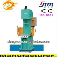 Flexible Manual And Semiautomatic 40 Tons C - Type Oil Press Machine With Adjustable Stroke And Pressure