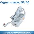 新しいオリジナル2014年20v2aacアダプター5.5*2.5mmlenovoノートpc用電源