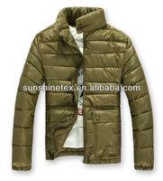 Winter padded coat for men