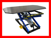 PNEUMATIC LIFTING TABLE FOR UPHOLSTERY ST-3/OB SWIVEL, WITH HEIGHT POSITIONING SYSTEM