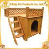 HOT SALE Ladder Design Large Dog House Wooden Dog Kennel