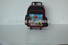 2014 new design cute Children trolley school bag