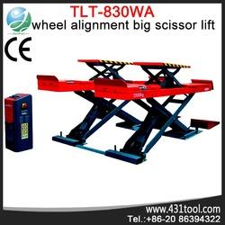 Used car scissor lift/elevator for Sale LAUNCH TLT830WA