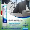 High Performance Waterbased Paintable Acrylic Elastic Caulk Sealant