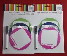 OEM magnetic dry erase whiteboard , magnetic board fridge magnet