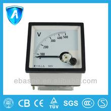 high quality digital panel meter voltmeter / ISO9001 certificate