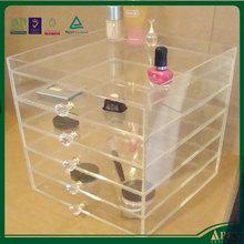 Alibaba china 5 drawer acrylic makeup organizer manufacturing