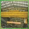 light cabin control double beam overhead grabbing crane for warehouse