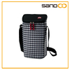 2014 BSCI audit 2 bottle wine tote bag with adjustable strap, wine bag carrier