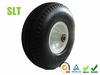 10 inch Flat-Free PU foam hand truck tyre, hand trolley wheel, trolley tyre 4.10/3.50-4, generator tyre