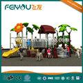 2014 novo magic tree house série crianças equipamento de escalada, paisagem estruturas pré-escolares ao ar livre equipamentos de playground,