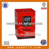 hot selling and high tea elephant tin