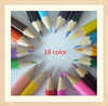 """7"""" 18 color wooden color pencils set drawings crafts pencil custom manufacturing office supply cheap wholesale staedtler"""