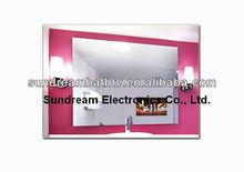S1906 IP65 Fog free waterproof mirror magic TVS for bathroom /outdoor bar/luxury hotel