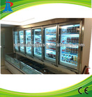 electric heated glass door for supermarket refrigerator freezer wine