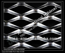 Color aluminum expanded metal mesh for ceiling and extermal wall cladding