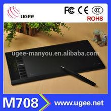 UGEE 8 Expresskeys Artist's Computer Drawing Tablet - M708
