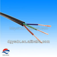 VDE Approval H05VV-F power cable for appliance power supply
