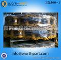 Hitachi excavadora partes ex300-1 cadena de orugas