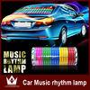 LED Dance Sound Music Activated EL Car Stickers Equalizer Glow Flash Panel Multi Colour Light Flashing Music Rhythm Light Lamp