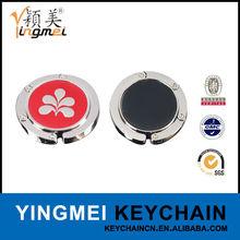 G01018-6 Cheap stainless steel foldable swivel hooks for purses