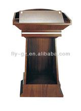 Guangzhou barato mesa discurso / madeira pulpits para igrejas