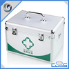 Environmental Protection Health&Safety Easy to carry High Quality Silver With Tray Aluminum FIRST AID CASE