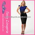 ml17957 recém moda escritório elegante joelho comprimento do vestido bandage