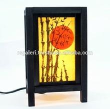 DIY vintage modern lamp