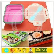 Eco friendly food grade car shaped lunch box