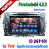 Android toch screen gps dvd player car audio for ford focus