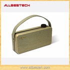 Classic Style Real Wood Portable Bluetooth Speaker