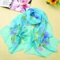 Personnalisé de haute qualité foulard en soie d'impression numérique