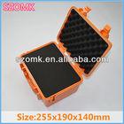 ShenZhen IP68 Orange hard case clamshell plastic waterproof box