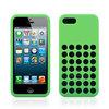 Silicone case for iphone 5 case form original design green