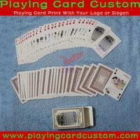 Matte Laminated Finishing Playing Cards