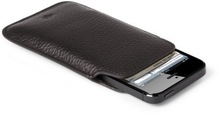 ADALMC - 0012 Slim Black Mobile Case / Manufacturer Of Genuine Leather Mobile Case / Black Mobile Cover