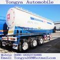 Vrac ciment citerne Semi - remorque usine Tongya vrac ciment camion - citerne remorque / vrac ciment citerne